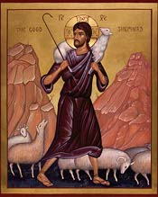 Icon of Christ the Good Shepherd